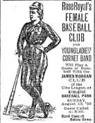 Womens baseball